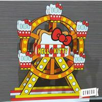 Hello Kitty Dekorasi Ulang Tahun Ferris Wheel 30cm