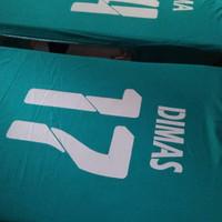 setelan jersey baju futsal/bola printing plus sablon
