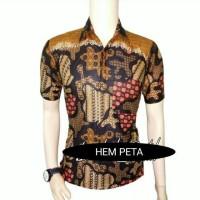 PROMO Kemeja ham batik pria seragam baju kantor TERMURAH