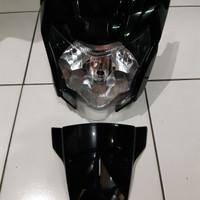 Reflektor/Headlamp/Lampu Depan Yamaha Vixion New NVA Set Asli