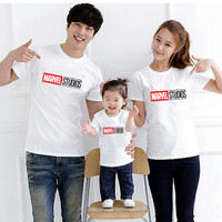 Kaos Couple Family Marvel Studio Avengers