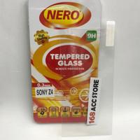TEMPERED GLASS / ANTI GORES KACA SONY XPERIA Z4 / Z3 PLUS NERO