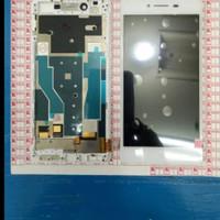 LCD TOUCHSCREEN OPPO R7 R7F FRAME ORIGINAL