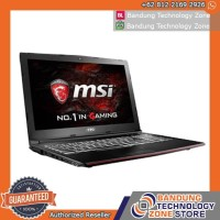 MSI Laptop Notebook Gaming GL62M 7RDX i7-7700HQ 8GB 1TB GTX1050