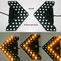 LAMPU LED SEIN SPION MOBIL INFINITE MIRROR RUNNING UNIVERSAL