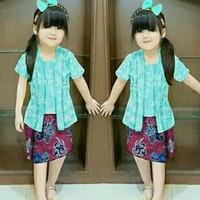 Baju Anak Perempuan Baju Setelan Anak Perempuan Set Kebaya Euise Kids