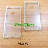 VIVO V7 Anticrack / Anti Crack / ACRYLIC Mika + Silicone Premium Case