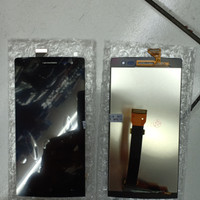 LCD TOUCHSCREEN OPPO FIND7 X9076 X9077 BLACK ORIGINAL