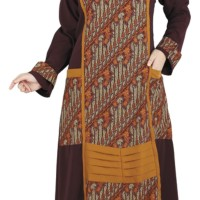 Baju Gamis Cauple Muslim Wanita Raindoz RYK 001
