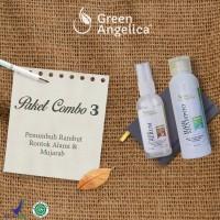 Perawatan Rambut Anti DHT + Shampoo Pencegah Penipisan Rambut