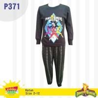 Setelan baju tidur anak laki laki Power Rangers (P371)
