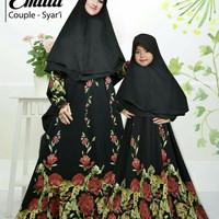 Baju muslim Couple Syari Emilia Mom N Kids
