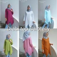 Diabi Top atasa wanita blouse muslimah murah SALE