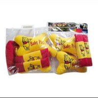 Bantal mobil paket hemat Winnie the pooh