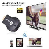 Any Cast M2 Plus M4 WiFi Display Dongle Receiver HDMI TV DLNA Airplay