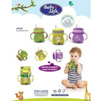 Baby Safe Cup Weighted Straw Training Cup Straw gelas botol minum anak