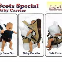 Gendongan bayi Baby Scots depan special