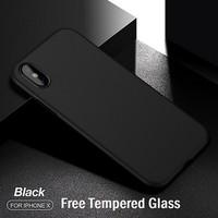 CAFELE Ultra Thin Case - iPhone X [Free Tempered Glass] - ORIGINAL