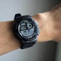 Casio Original AE-1000W-1AVDF / AE 1000W 1A VDF Garansi 1 Tahun