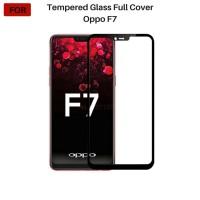 OPPO F7 Tempered Glass Full Cover Full Color