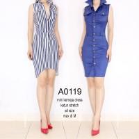 YKsale 0119 sale stock mini dress bodycon import wanita kemeja