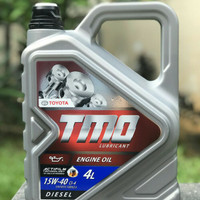 Oli Mobil Toyota TMO Diesel SAE 15w40 Kemasan Galon