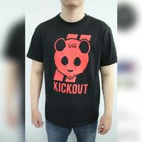 Tshirt/baju/kaos kick out