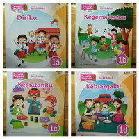 PAKET Buku Sd Tematik Terpadu Kelas 1 A B C D Erlangga