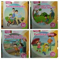 PAKET Buku Sd Tematik Terpadu Kelas 1 E F G H Erlangga