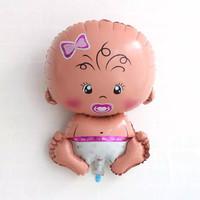 balon foil baby girl - balon baby shower - balon bayi perempuan