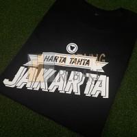 T1476 Kaos Tshirt Baju Combed 30S Distro Persija Harta Tahta Jakarta