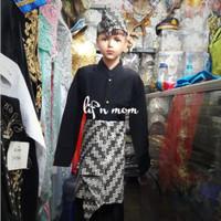 Baju adat sunda pakaian anak size L - XL