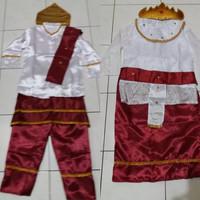 Baju adat lampung anak pakaian sumatra Lk/Pr - LAKI, S