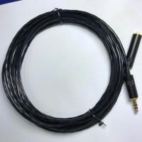 PRO CUSTOM CABLE 3.5mm Aux Cable MOGAMI W2944 N REAN PLUG 3m Black
