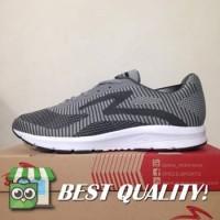 VinzoSport Sepatu Running/Lari Specs Overdrive Ash Grey 200530 Origin