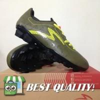 VinzoSport Sepatu Bola Specs Quark FG Olive Zest Green 100828 Origina