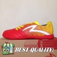 VinzoSport Sepatu Futsal Specs Equinox IN Emperor Red Yellow 400711 O