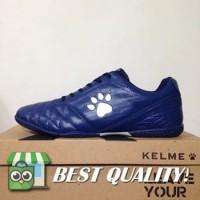 VinzoSport Sepatu Futsal Kelme Power Grip Navy Silver 1102107 Origina