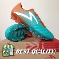 VinzoSport Sepatu Bola Specs Equinox FG Comfrey Green Orange 100795 O