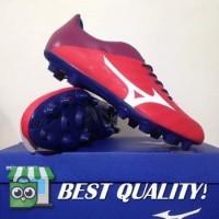 VinzoSport Sepatu Bola Mizuno Rebula V4 High Red White Blue P1GA18776
