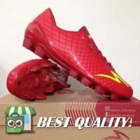 VinzoSport Sepatu Bola Specs Accelerator Exocet FG Dark Red 100764 Or