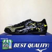 VinzoSport Sepatu Futsal Mizuno Ryuou IN Black Steel Gray P1GF189005