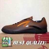 VinzoSport Sepatu Futsal Specs Eclipse IN Black Bitter Brown 400676 O