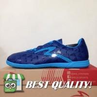 VinzoSport Sepatu Futsal Specs Quark IN Galaxy Cirrus Blue 400777 Ori