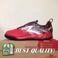 VinzoSport Sepatu Futsal Specs Metasala Warrior Premier Red Black 400