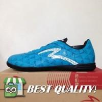 VinzoSport Sepatu Futsal Specs Quark IN Cocktail Blue Black 400776 Or