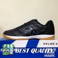 VinzoSport Sepatu Futsal Kelme K-Strong Black Negro 55787 Original BN
