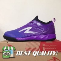 VinzoSport Sepatu Futsal Specs Metasala Musketeer Deep Purple Black 4