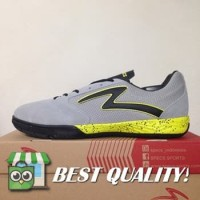 VinzoSport Sepatu Futsal Specs Metasala Rival Palona Grey Slime 40072