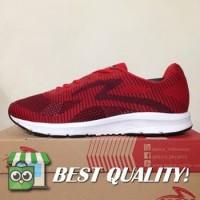 VinzoSport Sepatu Running/Lari Specs Overdrive Emperor Red 200531 Ori